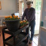 Gardening at Holmdel