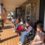 Monroe Residents Outside Oct 2019